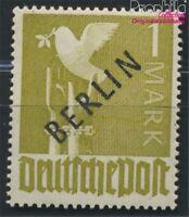 Berlin (West) 17a geprüft postfrisch 1948 Schwarzaufdruck (8984549