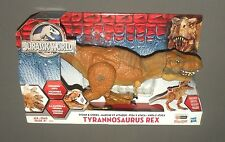 Jurassic World Stomp & Strike Tyrannosaurus Rex Dinosaur Figure w Chomping Jaws