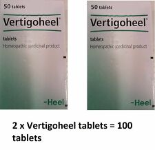 2 x Vertigoheel HEEL Homeopathic tablets for dizziness and vertigo treatment