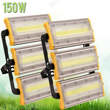 New listing 2X 150W Cool White Led Flood Light Ip66 Outdoor Arena Square Floodlight field