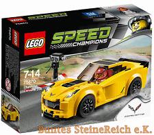 LEGO® Speed Champions: 75870 Chevrolet Corvette Z06 ! NEU & OVP & 0.-€ Versand !