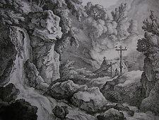 RECHBERGER ´EINSIEDELEI NACH DIETRICH (DIETRICY), DIE EREMITAGE´ N. 47, 1795