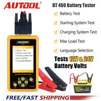 AUTOOL KFZ Batterietester Blei AGM GEL Batteriezellenanalysator für 12V 24V