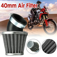 Universal 40mm Air Filter Black 45 Degree For 50 110 125 140cc ATV Pit Dirt Bike
