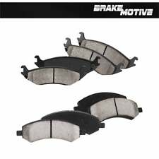 Front And Rear Ceramic Brake Pads Set Dodge Durago Ram 1500 Aspen 4WD 2WD