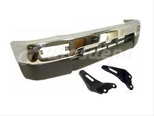 96-98 TOYOTA 4RUNNER LIMITED FRONT BUMPER CHROME VALANCE ARM BRACKET W/FLARE HOL