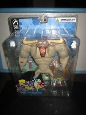 """THE REN AND STIMPY SHOW  SHAVEN YAK  """"INVISIBLE LOG"""" TOY DOLL FIGURE"""