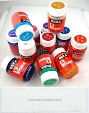 DEKA Colore colori tessuto BIANCO per stoffa jeans scarpe stencil permanent 2092