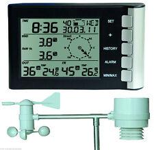 Markenlose Wetterstationen mit Außentemperatur-Anzeige