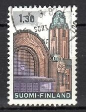 Finland - 1971 Definitive railway station - Mi. 698y VFU (phosphor paper)