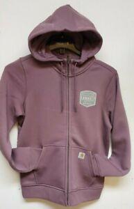 Carhartt 104041-V06 Women's Clarksburg Full Zip Graphic Hooded Sweatshirt XLG