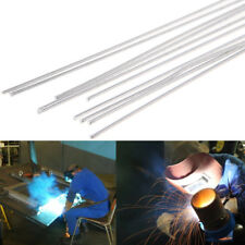 10Pcs 1.6x450mm Hypothermia Low Temperature Aluminium Welding Rod Wire Electrode