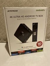 Ematic AGT418 Jetstream 4K Google Assistant Ultra HD Android TV Box Netflix