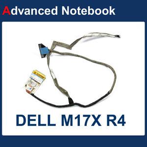DELL ALIENWARE M17X R3 R4 LED LVDS SCREEN WEBCAM CABLE DC02C001G00 GTDTJ  #01
