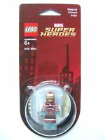 Lego Marvel Iron Man Mini-Figure Magnet 850673 Super Heroes NEW Sealed
