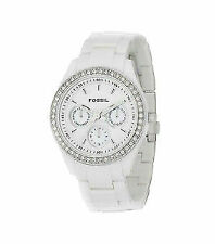 Weiße Gloss Armbanduhren
