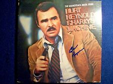 """BURT REYNOLDS """"Sharky's Machine"""" Signed Autographed Album Cover RARE"""