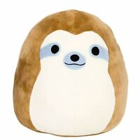 Squishy Squishmallow Simon Sloth Stuffed Plush Soft Gift Toy Kids Boys Girl Kids