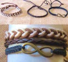 Infinity Leather Friendship Fashion Bracelets