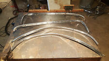 1958 57 cadillac wheel well trim fender quarter panel FREE U.S. SHIPPING