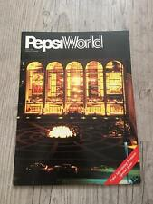 "Michael Jackson 7"" (SP) "" PEPSI WORLD "" complet PROMO COLLECTOR ! J5 ! Near Mint"