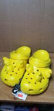 New Yellow Crocs x Peeps Collaboration - Men's  US 12