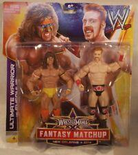 WWE Mattel - Wrestlemania XXX Fantasy Matchup Ultimate Warrior Vs. Sheamus (MOC)