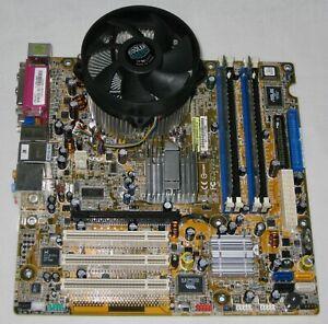 Vintage HP Pavilion a730n Computer Motherboard 530 Intel Pentium 4 512MB Parts