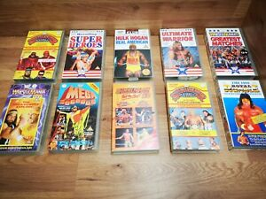 🌟WWF Classic 80's/90's Video tapes🌟WWE VHS video Silver Vision🌟Video VCR🌟