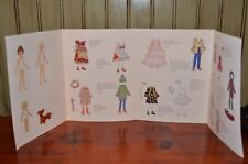 Betsy McCall Collector Doll paper doll set Uncut 3 dolls, dog, outfits