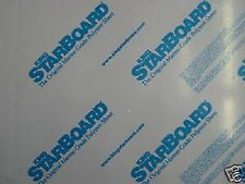 "1/4"" X 24"" X 54""  WHITE KING STARBOARD POLYMER HDPE MARINE BOARD FREE SHIPPING*+"