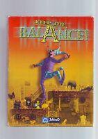 KEEP THE BALANCE - FUN 2000 PUZZLE PC GAME - FAST POST - ORIGINAL RARE BIG BOX