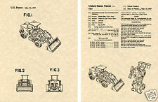Transformers SCRAPPER Patent Art Print READY TO FRAME!! G1 Devastator Loader