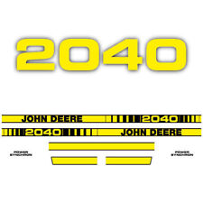 John Deere 2040 tractor decal aufkleber adesivo sticker set