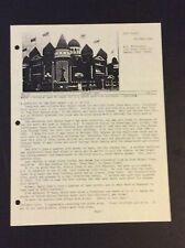 CORN PALACE POSTCARD NEWS Vo. 2 No. 1  Wendell C. Morningstar SOUTH DAKOTA