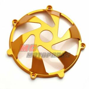 Gold For Ducati Billet Dry Clutch Cover Supersport 900 750 1000 SS CC15