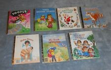 """Little Golden Books Lot Of 7 Hardcover Books - Good to Very Good  - SET """"M"""""""