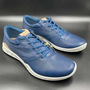 ECCO Golf S Lite Poseidon Navy Spikeless Golf Shoes, Men's Size 11