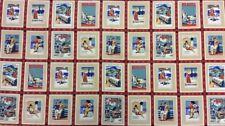 Woodrow Studio-Antiguo Álbum De Recortes Panel Cardmaking - 100% Tela De Algodón Rojo