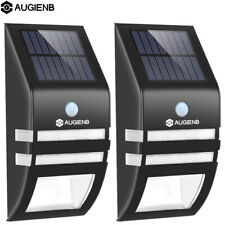 AUGIENB LED Super Bright Solar Powered PIR Security Outdoor Garden Lighting