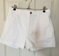 Everlane White High Rise Pocketed Shorts Size 6