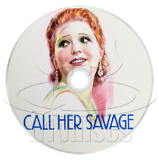 Call Her Savage (1932) Clara Bow, Gilbert Roland Drama Movie / Film (DVD)