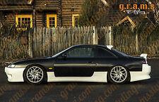 NISSAN 200sx S14/S14a VERTEX Stile Gonne Laterali per Kit Carrozzeria, Racing V6
