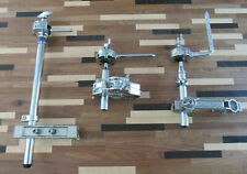 Lot of 3 Tom Arms and Clamps