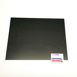 USA CARBON FIBER 3K PLAIN WEAVE PANELS / SHEETS - 1.5mm-3mm Thick - FULL GLOSS