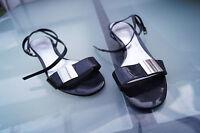 ESPRIT Damen Sommer Schuhe Sandale Pumps schick Gr.37 Lack Leder schwarz TOP #55