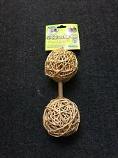 New Large Farmers Market Guinea Pig Barbell Toy / Bell Size Large