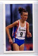 (Jj229-100) RARE, Junior Trade Card of #138 Liz McColgan, Athlete 1986 MINT