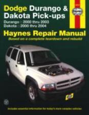 Dodge Durango 2000-2003, Dodge Dakota 2000-2004 (Haynes Repair Manual), Haynes H