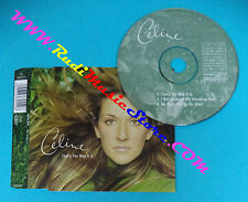 CD singolo Celine Dion That's The Way It Is COL 668255 2 no mc lp vhs dvd(S30**)